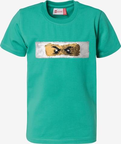 LEGO WEAR T-Shirt 'Ninjago' in gold / grün / schwarz / silber, Produktansicht