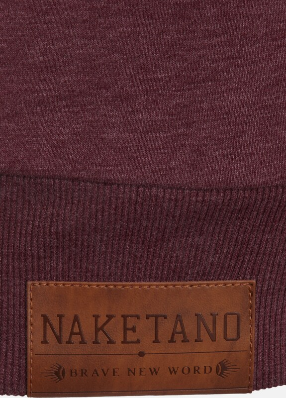 naketano Sweatshirt 'Banane oder Gurke?'
