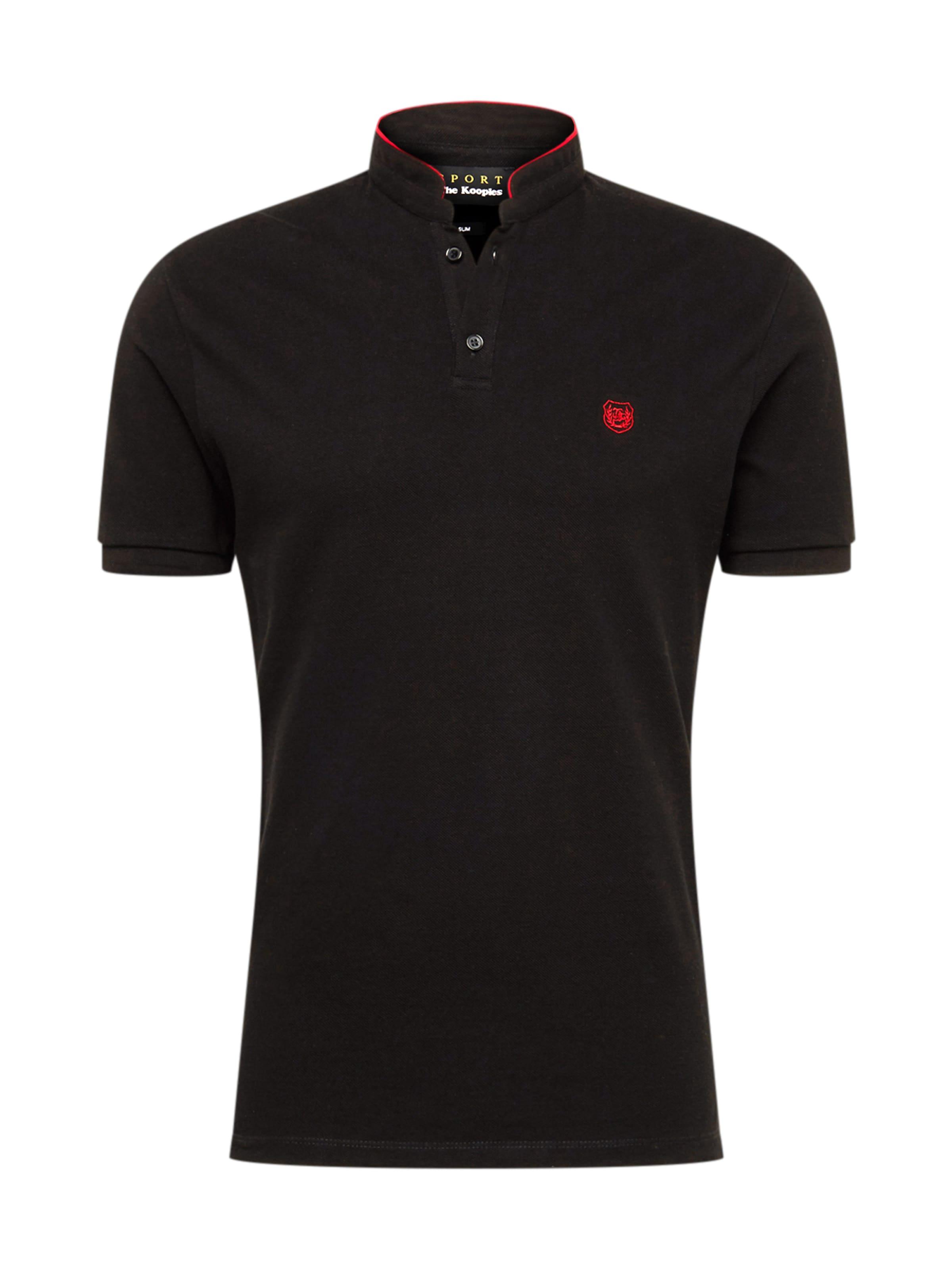 shirt T The Kooples RougeNoir En Ibg7Y6vfy