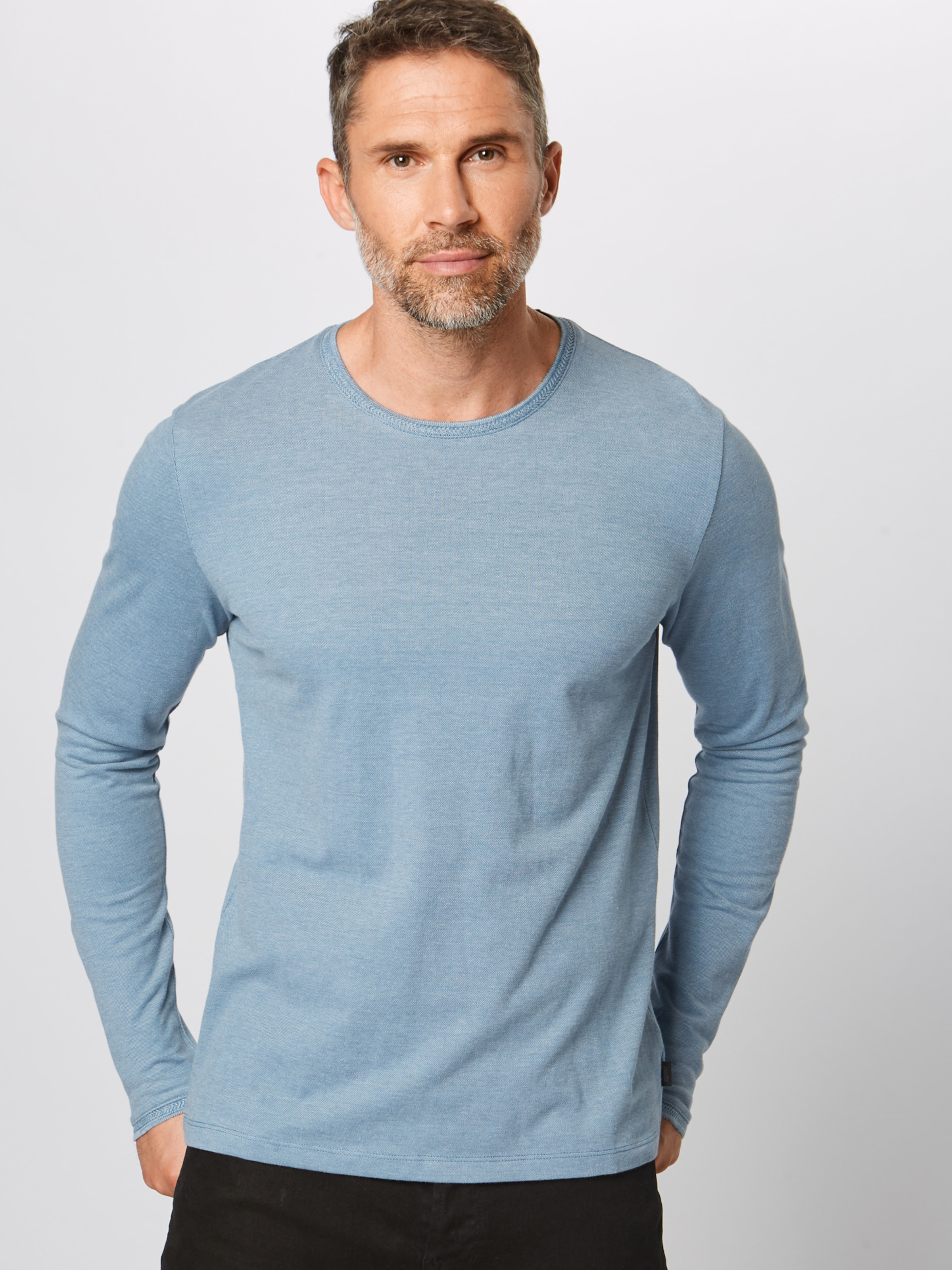 In Oxpi Shirt Ls' 'ocs Rauchblau Esprit Cn dBexrCo