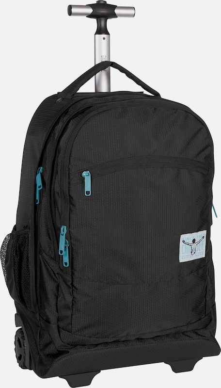 CHIEMSEE Urban Solid 2-Rollen Trolley Rucksack 52 cm Laptopfach