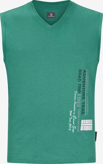 Jan Vanderstorm Muskelshirt 'Laci' in grün, Produktansicht