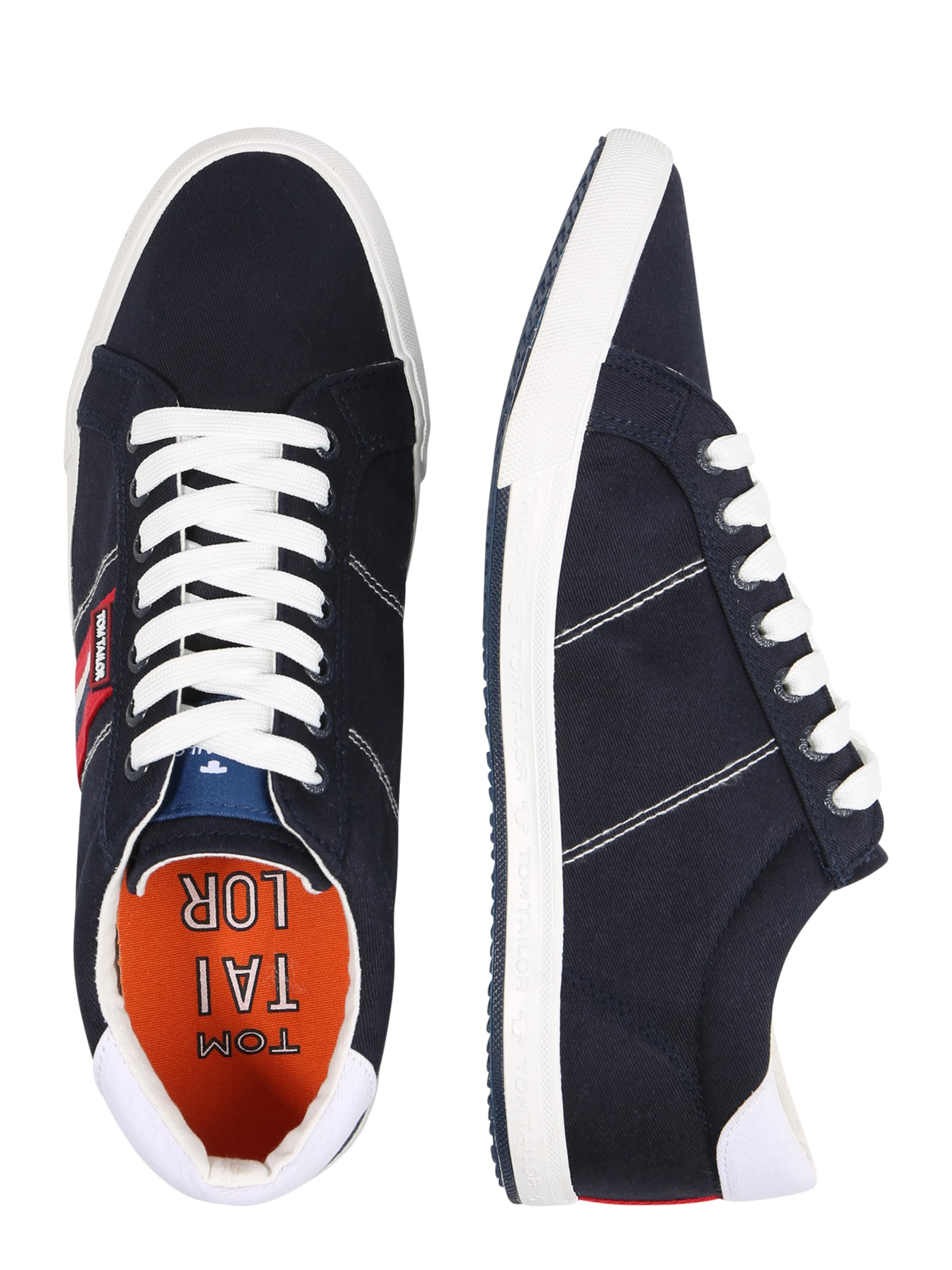 DunkelblauHellrot Weiß In Tailor Tom Sneaker ikXZPu