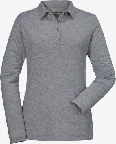 Schöffel Shirt 'La Grave1' in graumeliert, Produktansicht