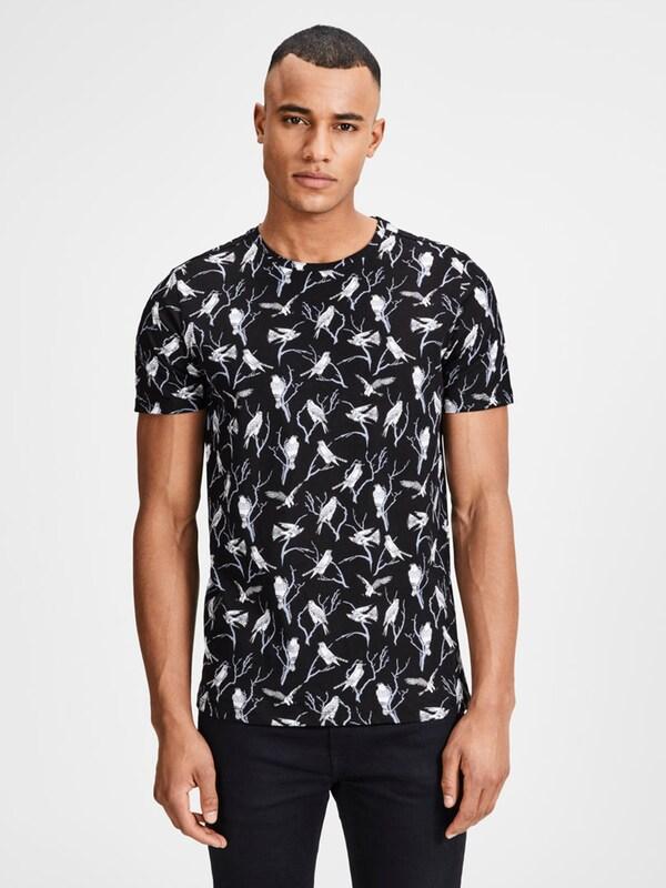 JACK & JONES Schmal geschnittenes T-Shirt