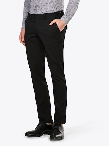DRYKORN Trousers with creases 'Kill' in Black