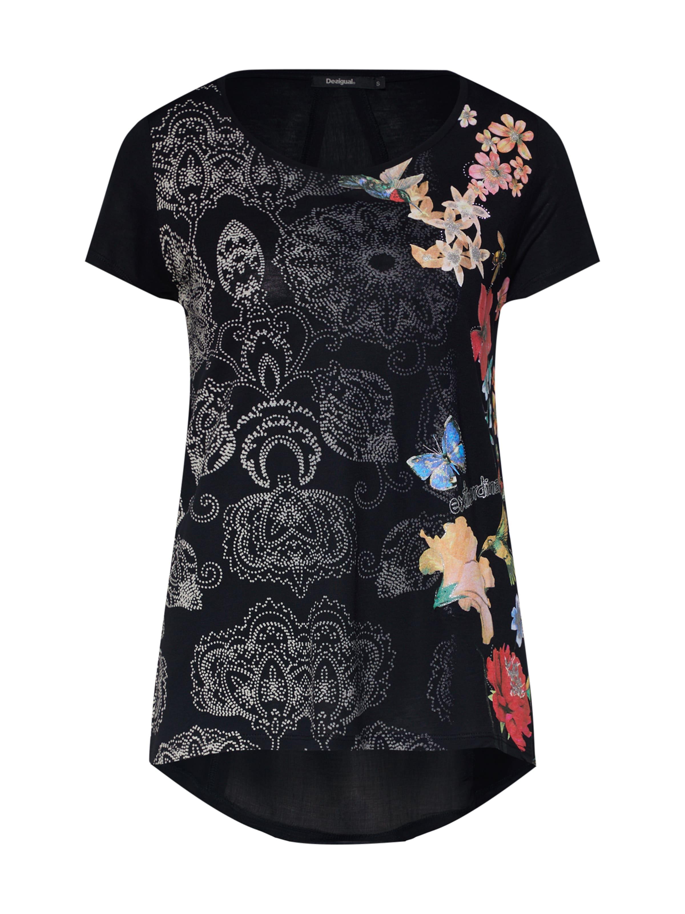 Noir In shirt 'ts panama' DesigualT BdtQxhsrC