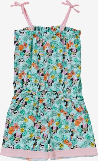DISNEY Jumpsuit 'Minnie Mouse' in jade / dunkelorange / rosa / schwarz / weiß, Produktansicht