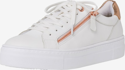TAMARIS Sneakers laag in de kleur Rose-goud / Wit, Productweergave