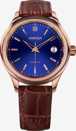 JOWISSA Quarzuhr 'Tiro' in blau / braun / rosegold, Produktansicht