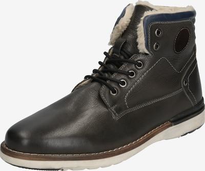 Suvarstomieji batai 'Lennard' iš ABOUT YOU , spalva - tamsiai pilka: Vaizdas iš priekio