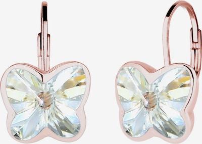 ELLI Oorbellen 'Schmetterling' in de kleur Rose-goud / Gemengde kleuren, Productweergave