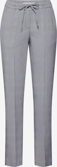 Kelnės su kantu 'Mareen' iš BRAX , spalva - pilka / raudona / juoda: Vaizdas iš priekio