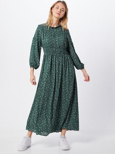 SELECTED FEMME Kleid in smaragd / weiß, Modelansicht