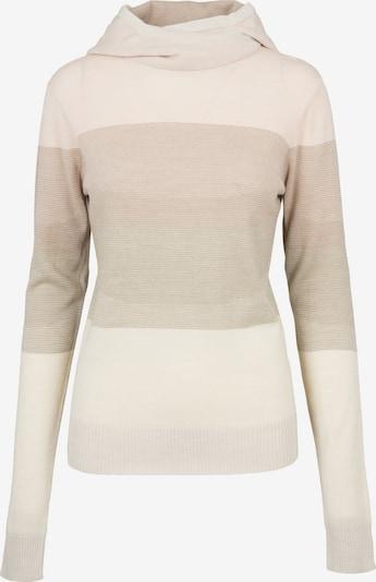Urban Classics Pullover in camel / hellbeige / dunkelbeige / rosa, Produktansicht