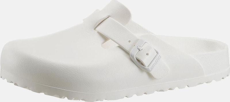 Haltbare Mode billige Schuhe BIRKENSTOCK   Pantoletten 'Boston' schmal Schuhe Gut getragene Schuhe
