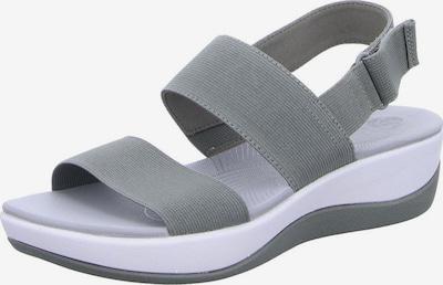 CLARKS Sandale in graumeliert / weiß, Produktansicht