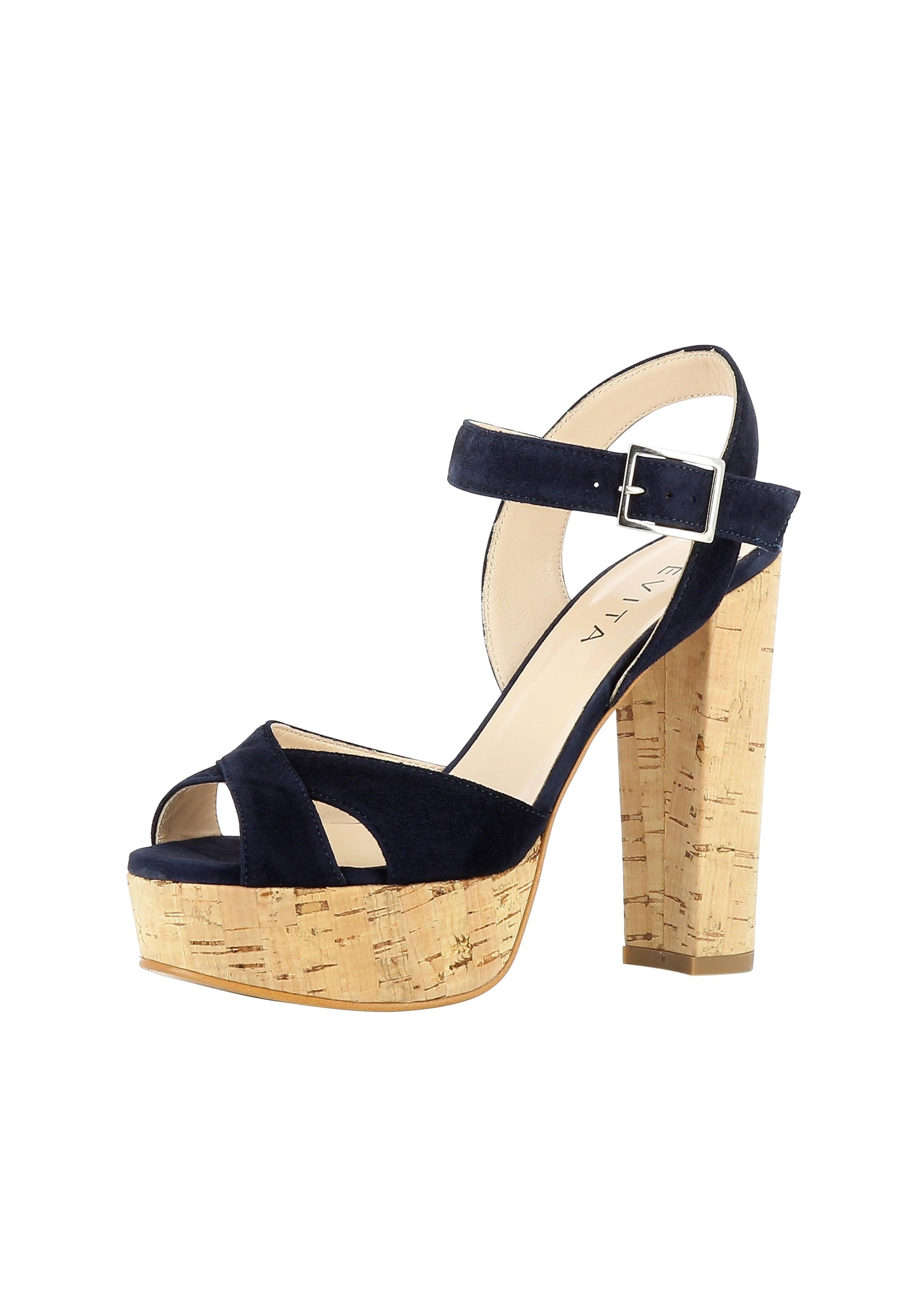 Evita Sandalette Damen Damen Damen In Sandalette Dunkelblau In In Sandalette Dunkelblau Evita Evita E9D2IWYH