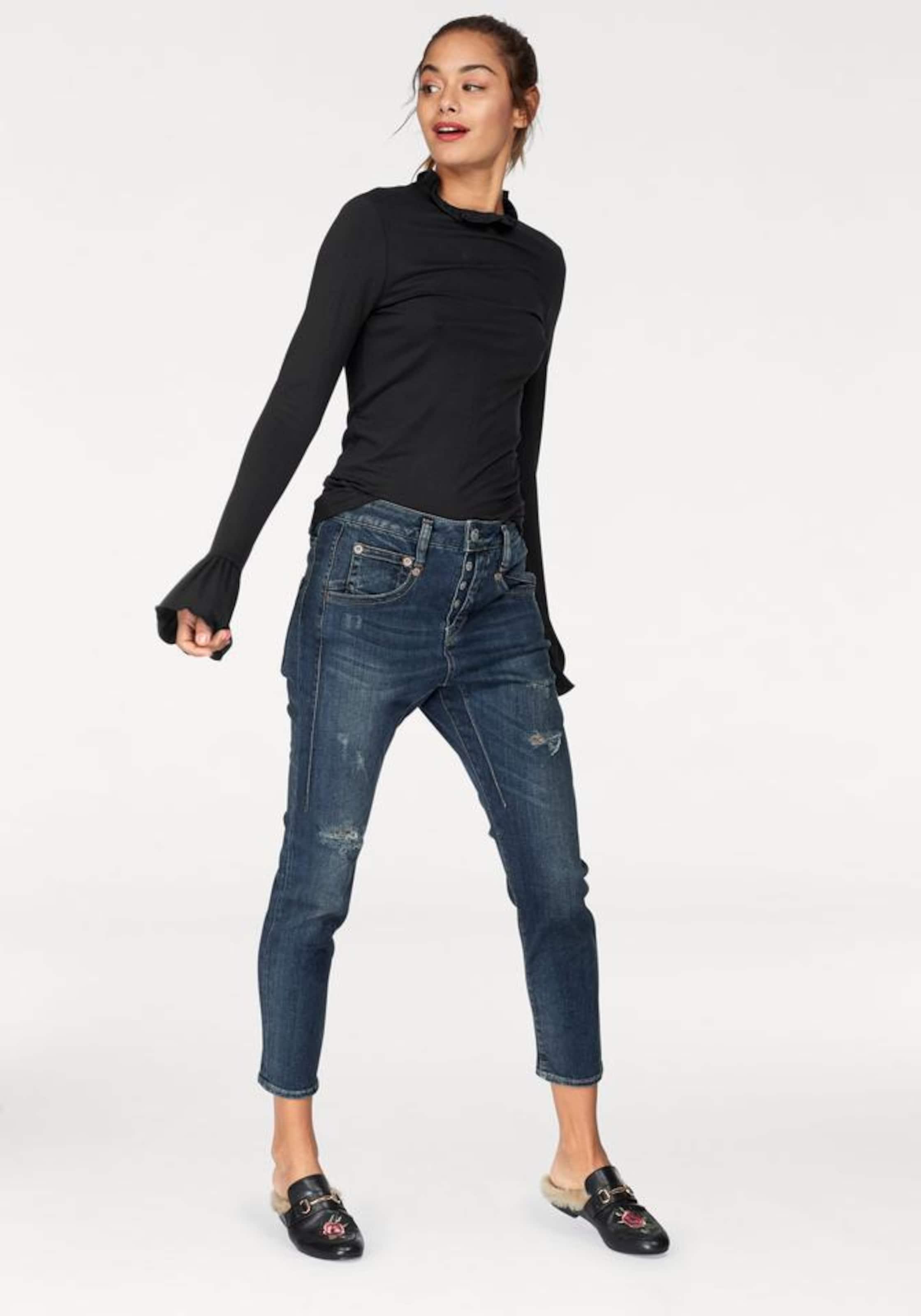 Herrlicher 'Shyra Cropped' Jeans in 3/4-Beinl盲nge