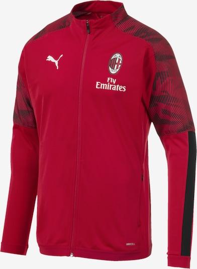 PUMA Trainingsjacke 'AC Milan' in rot, Produktansicht