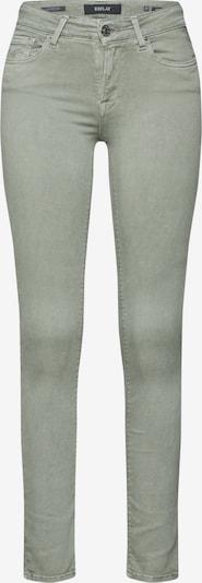 REPLAY Jeans 'LUZ   HYPERFLEX' in grün, Produktansicht