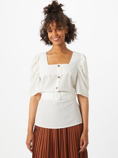 SISTERS POINT Bluse 'Grimo' in creme: Frontalansicht