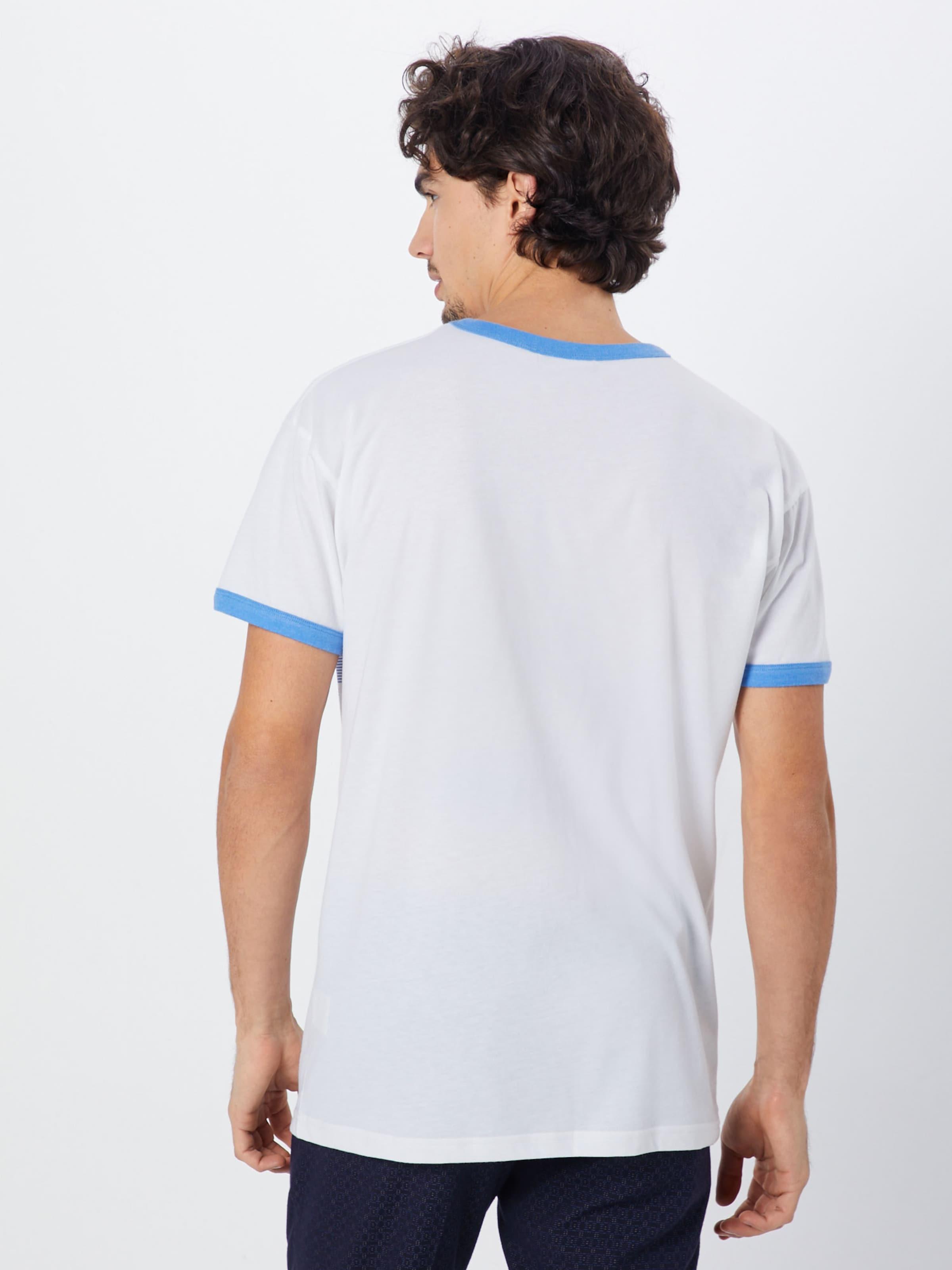 shirt 'kink' T Derbe En BleuBlanc QroedWCBxE