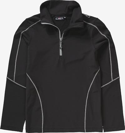 CMP Sweatshirt in schwarz: Frontalansicht