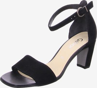 GABOR Sandale in schwarz, Produktansicht