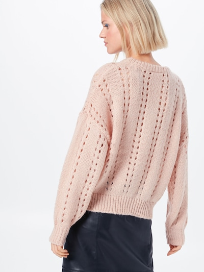 VILA Pull-over 'VITAFFY' en rose: Vue de dos