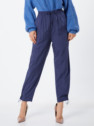 Native Youth Hose 'THE LEOLA PANT' in navy, Modelansicht
