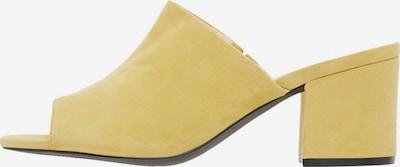 Bianco Mule en jaune, Vue avec produit