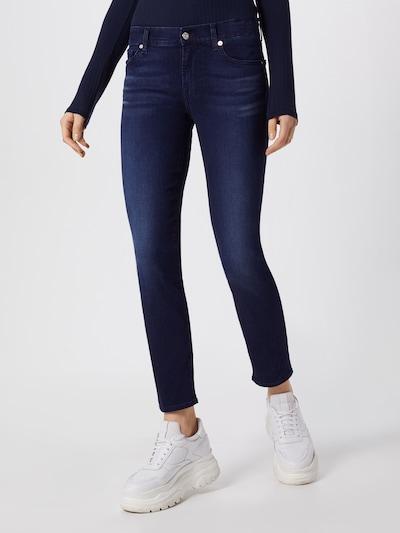 7 for all mankind Jeans 'Roxanne' in blue denim, Modelansicht