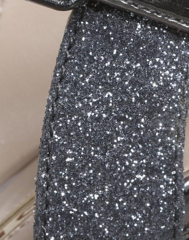 BUFFALO Peep Toe mit Glitter Glitter Glitter 78b5a8