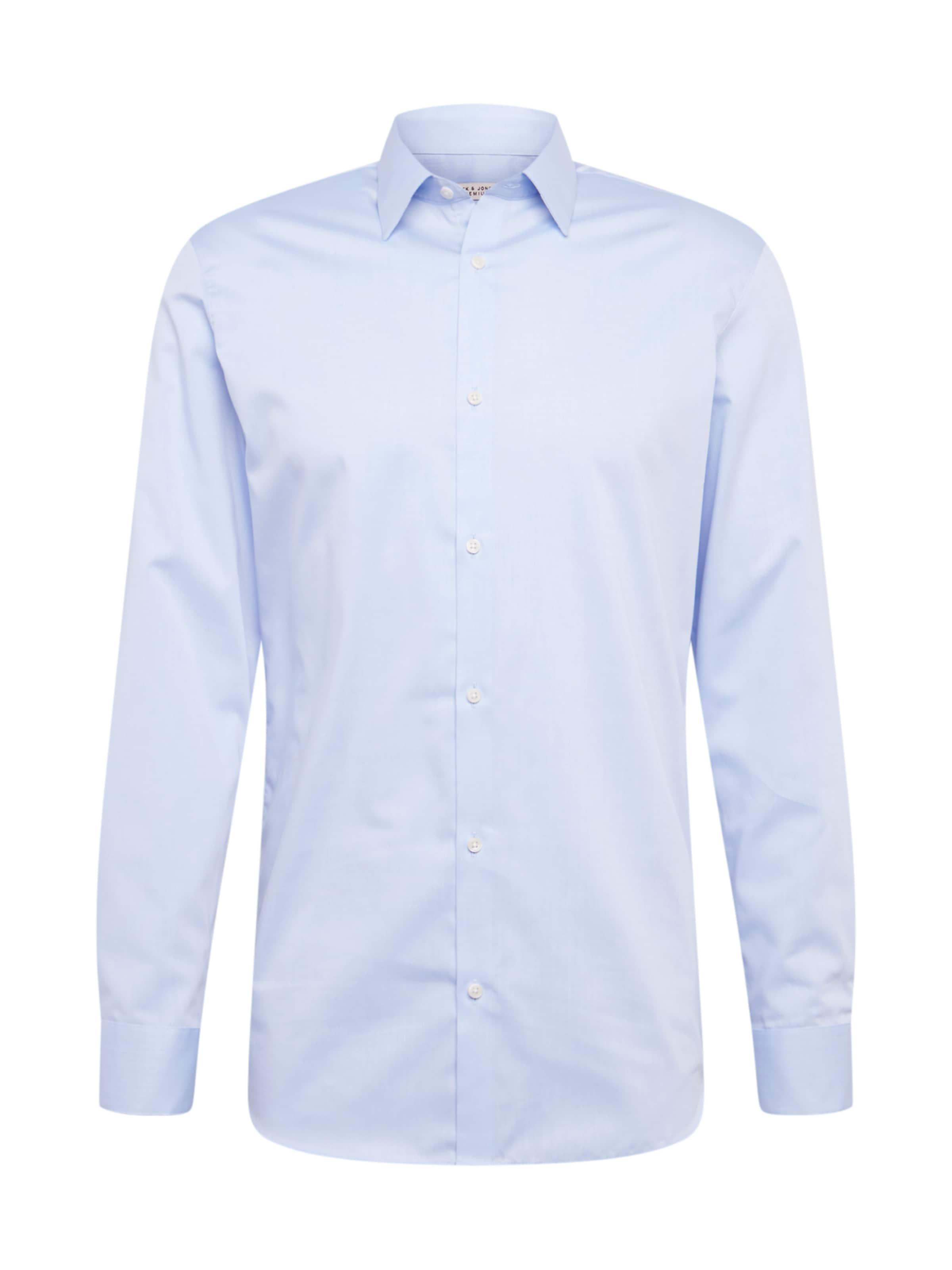 Bügelfreie Langarmhemd In Jones Jackamp; Blau doCBerx