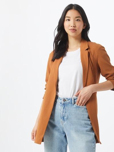 JACQUELINE de YONG Blazer 'GEGGO' in rostbraun, Modelansicht