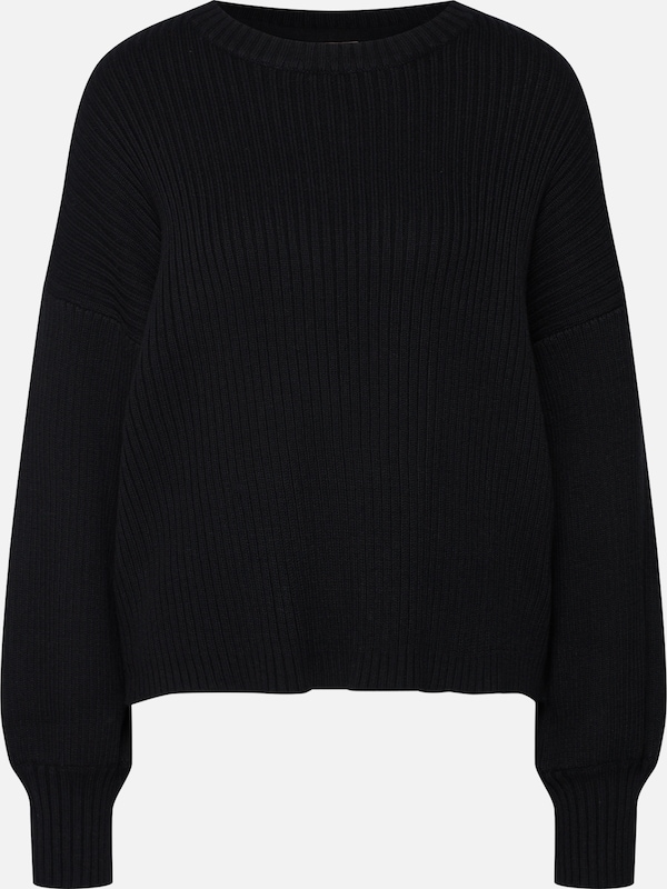 Noisy may Pullover in schwarz: Frontalansicht