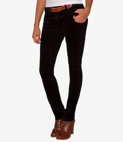 Soccx Hose in schwarz, Modelansicht