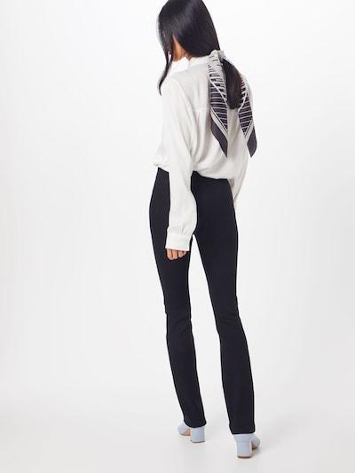 Filippa K Broek 'Erin Slim Pant' in de kleur Zwart: Achteraanzicht