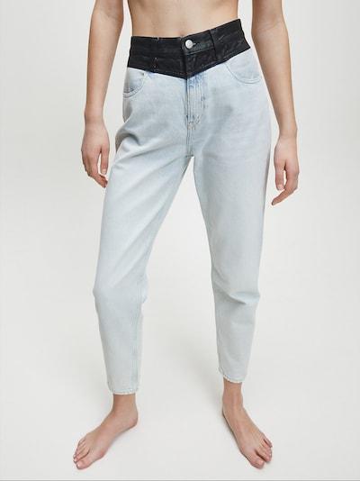 Calvin Klein Jeans Jeans in de kleur Lichtblauw / Zwart, Modelweergave