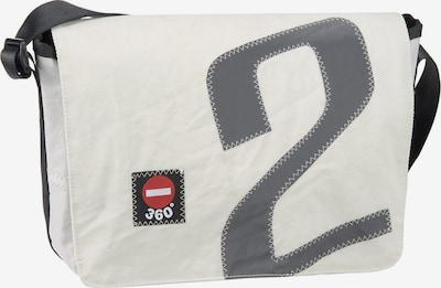 360 Grad Umhängetasche ' Barkasse Mini ' in grau / weiß, Produktansicht