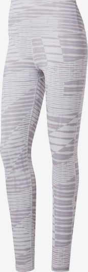 REEBOK Tights 'Yoga' in grau / hellgrau, Produktansicht
