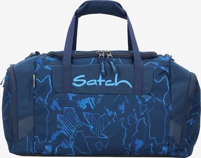 Satch Tasche in neonblau / dunkelblau, Produktansicht