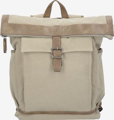 CAMEL ACTIVE Rucksack mit Laptopfach 'Seoul' in beige / sand: Frontalansicht