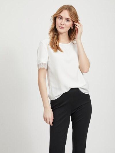 OBJECT Blusenshirt in weiß, Modelansicht