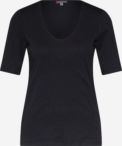 Tricou STREET ONE pe negru, Vizualizare produs