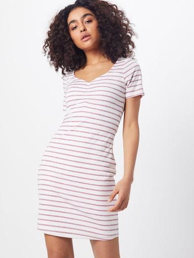GUESS Kleid 'ENRIQUETA DRESS' in pink / weiß, Modelansicht