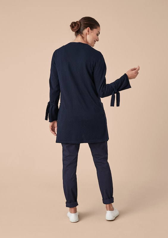 TRIANGLE Strickjacke in dunkelblau  Bequem und günstig günstig günstig 05e87d