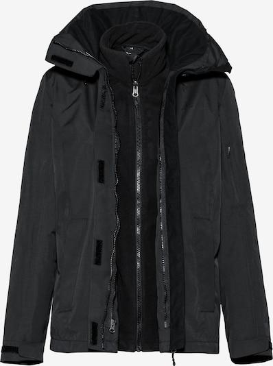 OCK Doppeljacke in schwarz, Produktansicht