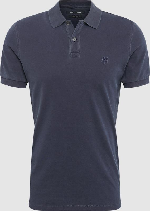 Marc O'Polo Poloshirt in spezieller Färbung in graphit  Freizeit, schlank, schlank